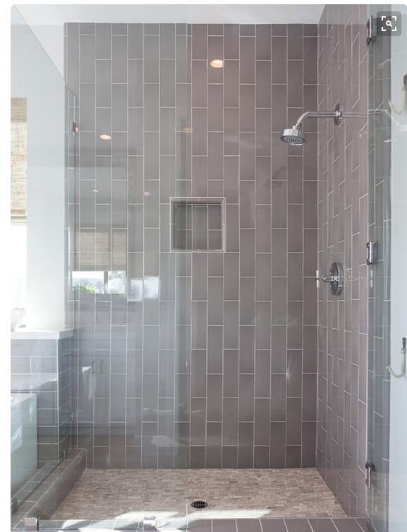 do even larger white rectangular tiles do them vertically in a