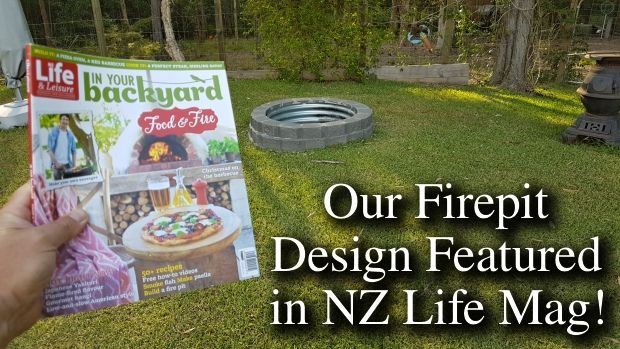 One of New Zealand's top lifestyle mags liked our firepit design! Hot stuff...
