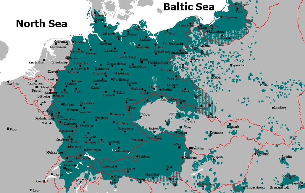 German linguistic area 1910 1930 maps pinterest explore german language family history and more gumiabroncs Images