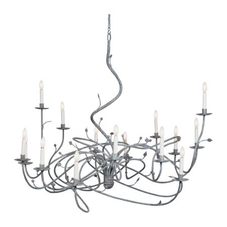 IRONWARE Isadora 15 Light Chandelier