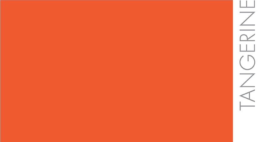 Tangerine : Couleur mandarine, bel orangé moins jaune que KARMA ...
