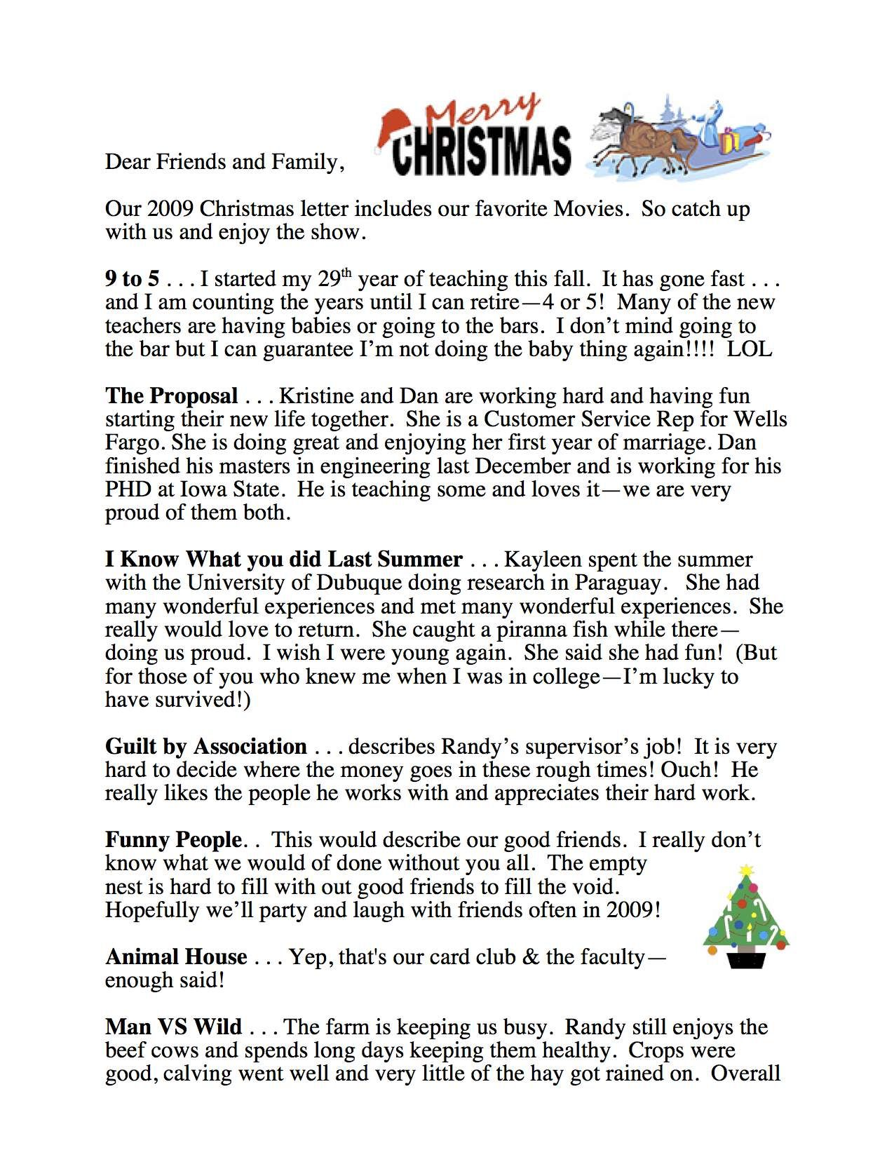 funny christmas letter ideas creativeletter co - Funny Christmas Letters