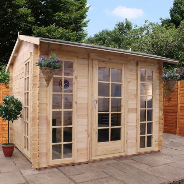 Garden Sheds 5m X 3m avon 3m x 2.5m dorset log cabin - http://www.sheds.co.uk/log