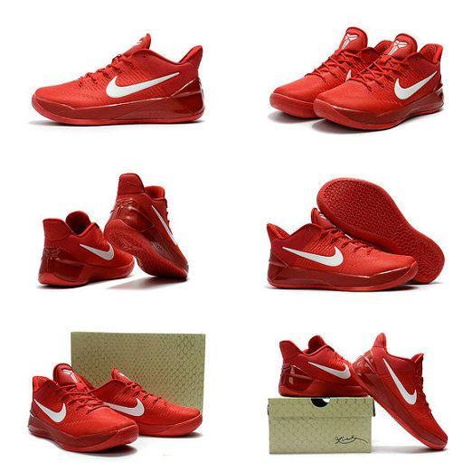 best website 99f58 326db Spring Summer 2018 Newest Nike Kobe AD 2016 2018 University Red White