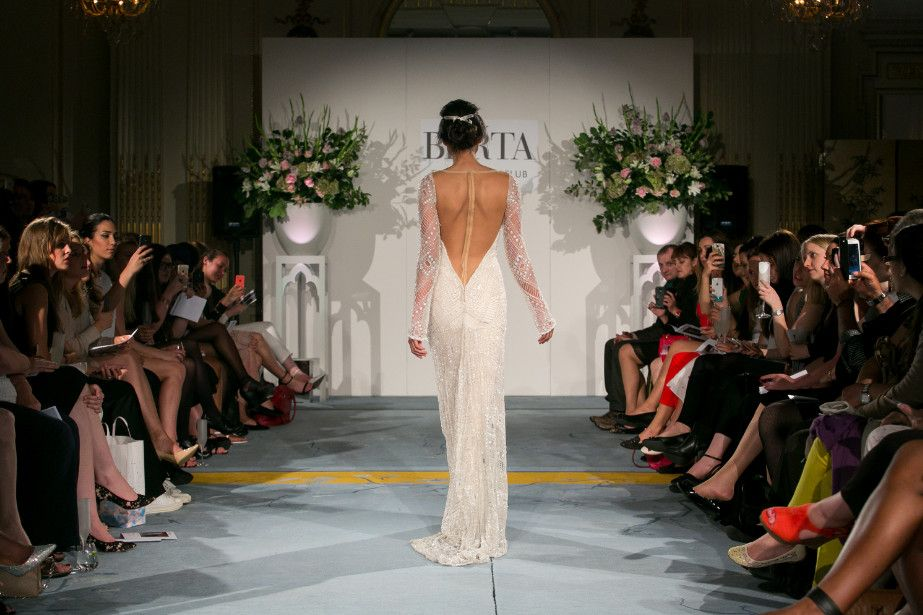 #BERTA beauty walking down the runway at our London catwalk ♥ Photography by Bandele Zuberi