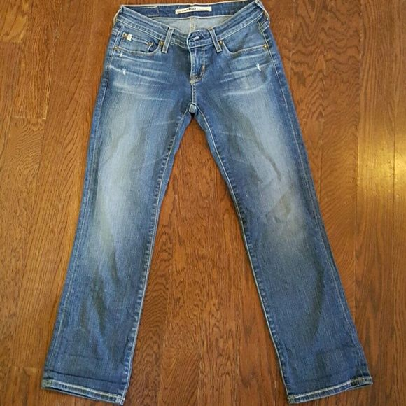 Big Star Jeans Big Star Jeans.  They are in overall good condition with only a little bit of fray.  They are size 24 with a length of 26.  The style is Rikki and they are straigt leg.  These are expensive and quality made jeans at an affordable price Big Star Jeans