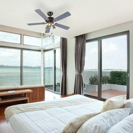 #Deckenventilator Mistral 42 Grau   #Deckenleuchte #Ventilator