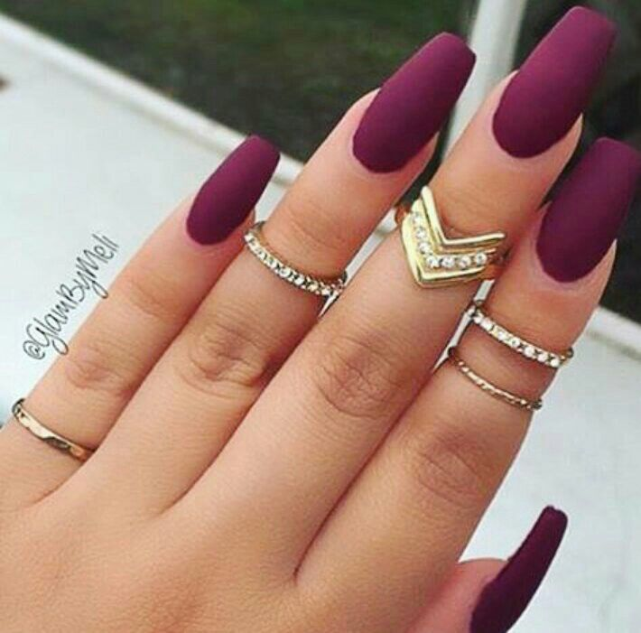 Beautiful color for nails | nails | Pinterest