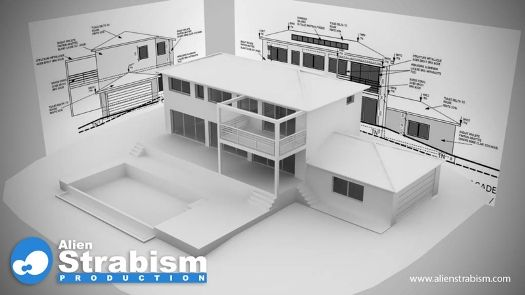 Bien connu maquette maison contemporaine | maquette | Pinterest | Plan  WV43