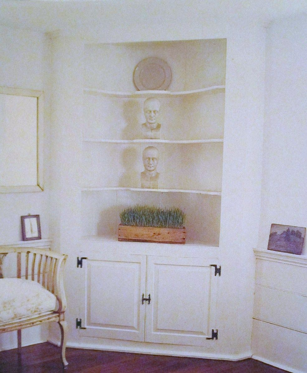 Living Room Corner Cabinet Here Is A Nice Clean Built In Corner Cabinet Possibly For The