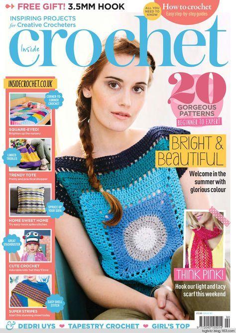 Inside Crochet 90 2017 Magazines Pinterest Zeitschriften Und