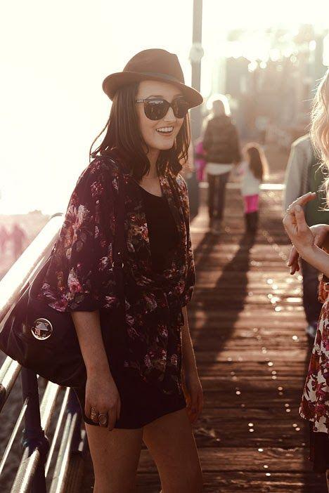 Kimono + Vestido