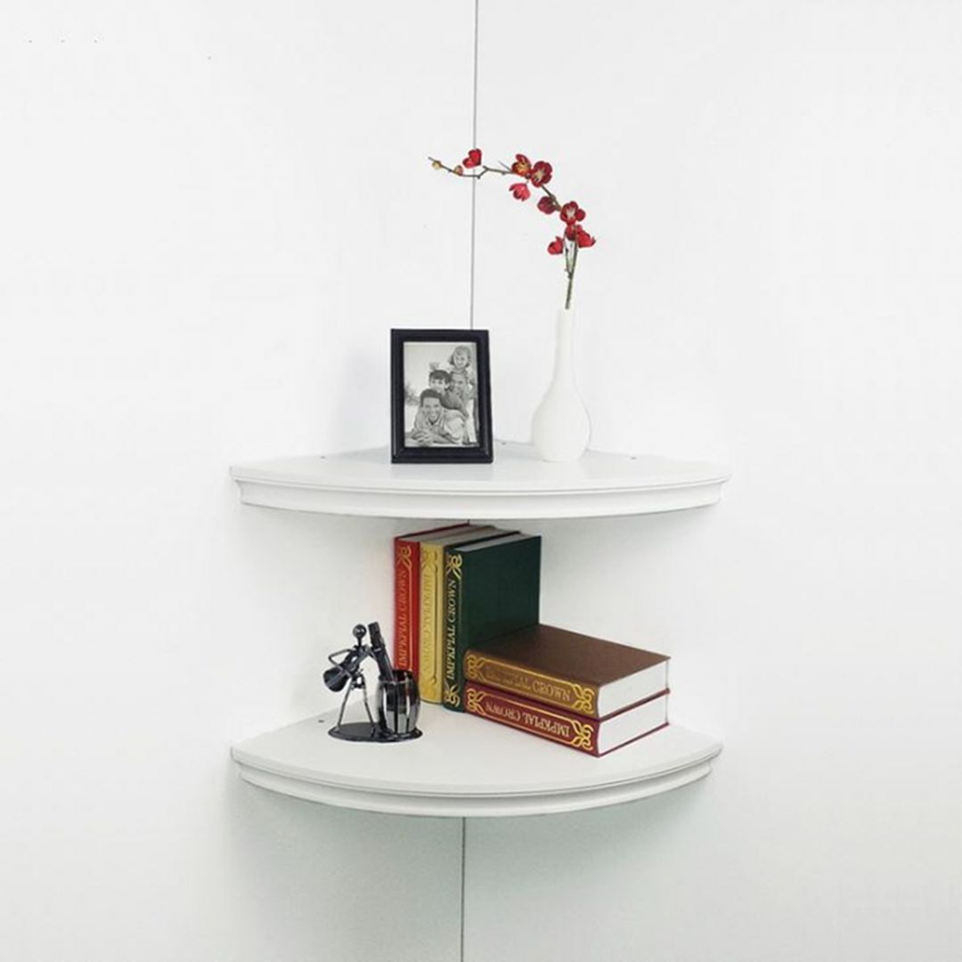 20 easy diy floating corner shelf on a budget you should try | floating corner shelves, rustic
