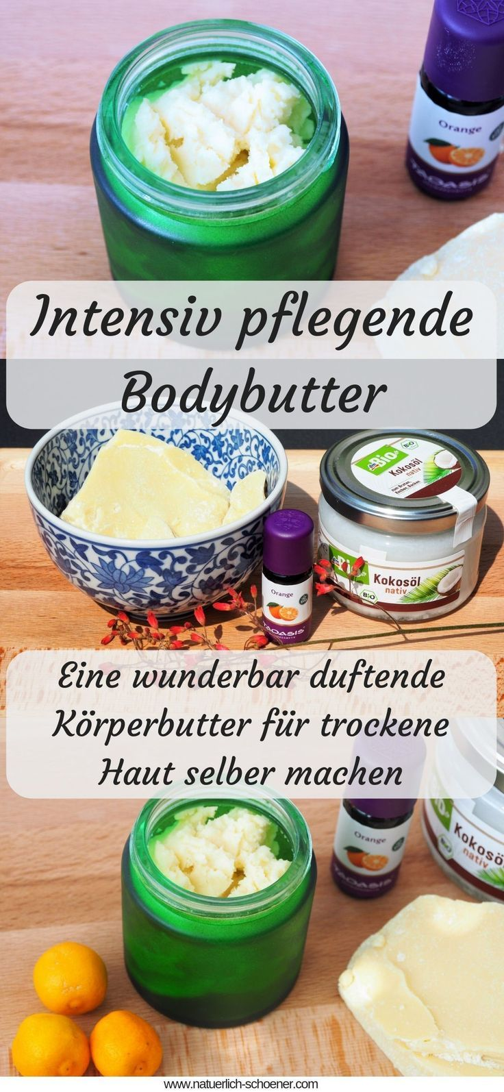 Photo of Make intensive nourishing body butter with an orange scent yourself