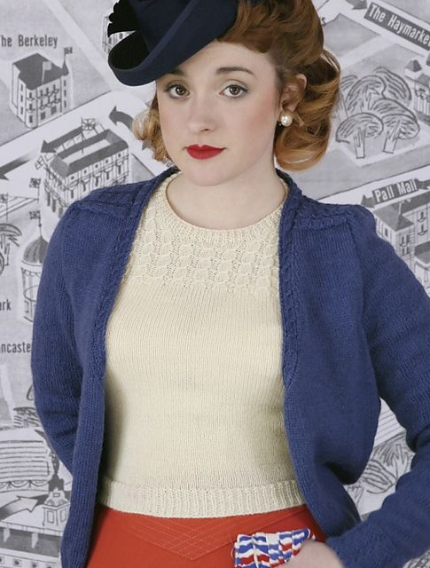 Princess Twinset Jumper pattern by Susan Crawford | Jumper, Ravelry ...