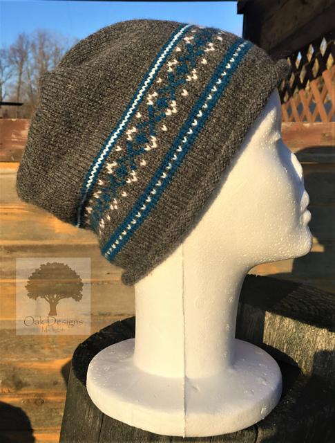 Ravelry: Simple Fair Isle Hat pattern by Oak Designs MI   Knitting ...