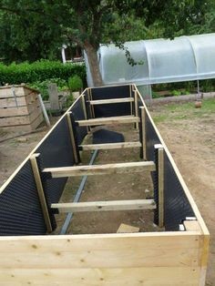 le jardinage debout intensif mon potager en carres jardin pinterest permaculture raised. Black Bedroom Furniture Sets. Home Design Ideas