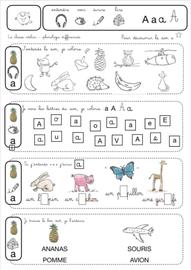 phonologie différenciée | Phonologie ce1, Cahier d'écriture, Maternelle