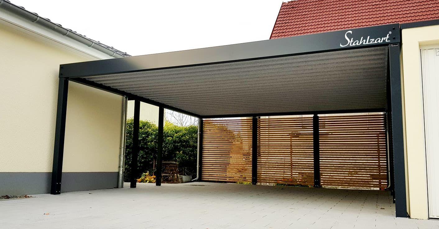 Doppel Carport Metall Holz Anbau Aue Flachdach Modern Stahlzart Carport Metall Carport Preise Stahlcarport