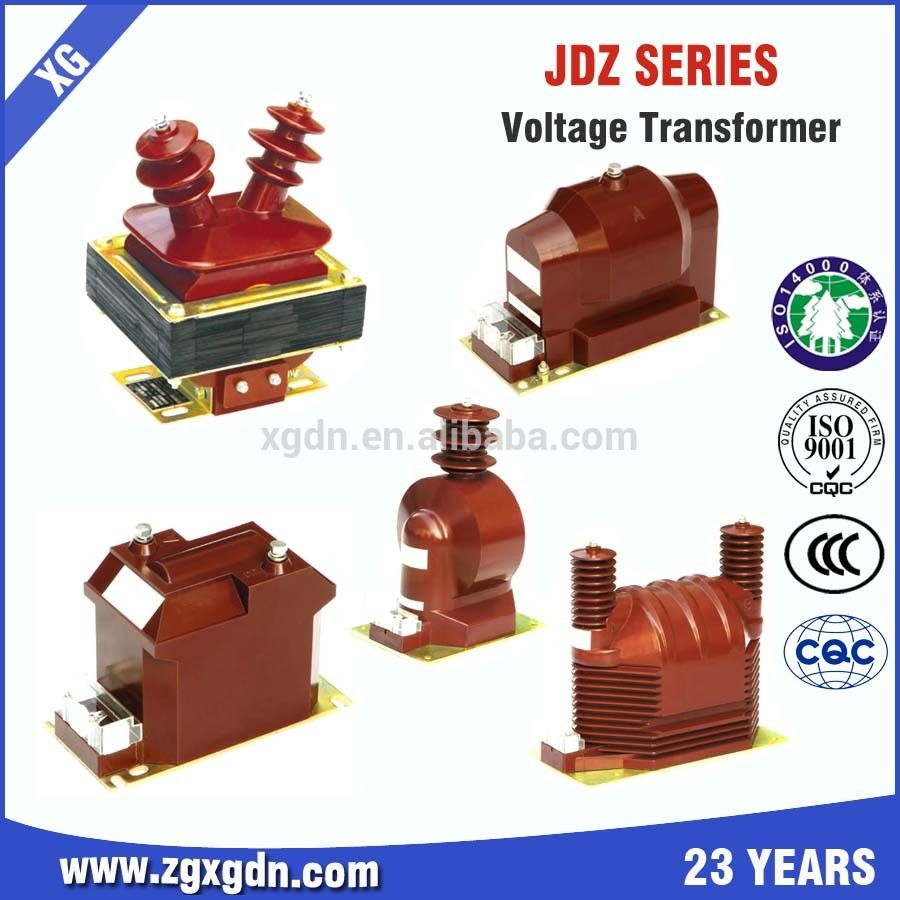 10kv Epoxy Resin Type Voltage Transformer Ct For Metering Box Capacitor Transformers Epoxy Resin