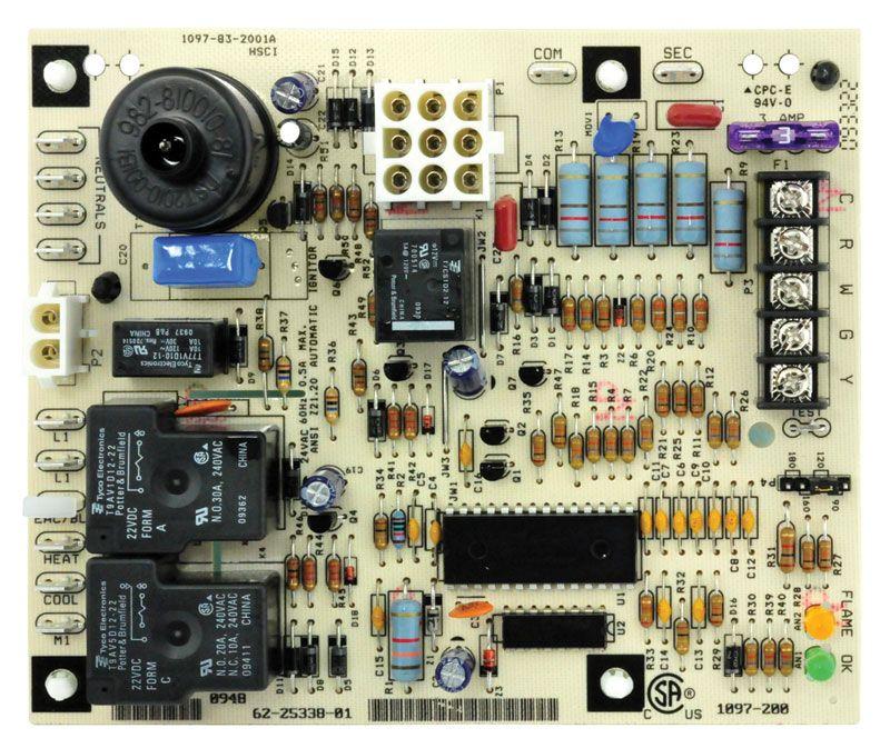 622533801 Rheem Ruud Furnace Control Board Boards