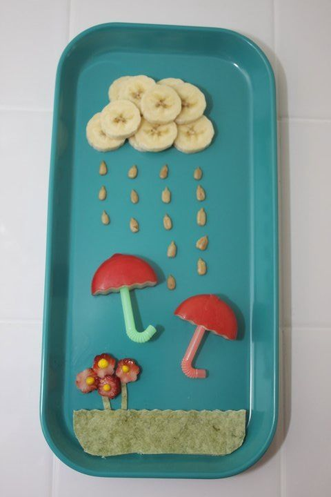 another rainy day lunch - ppl are getting creative #gladinspiredlunches
