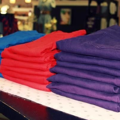 New Skinnies, perfect for game day dolls!  Cobalt Blue, Wolfpack Red, Pirate Purple: $36  @cousincouture www.thecousintocouture.com