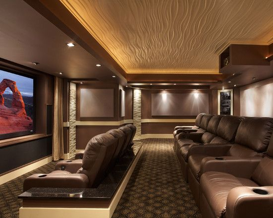 Home Theater Seating Ideas Design, Pictures, Remodel, Decor And Ideas    Page 2