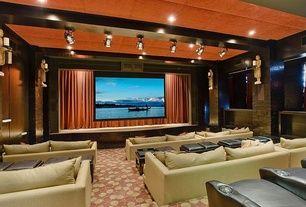A Home Cinema For The Extended Family Cinema Em Casa Design Casas