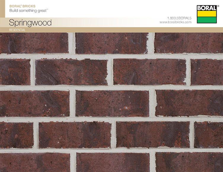 Boral Brick Springwood Brick Brick Suppliers Masonry