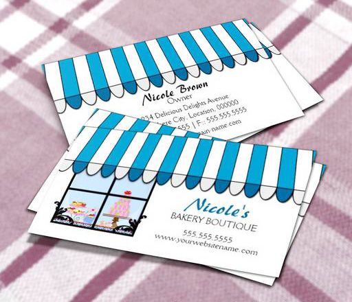 Whimsical bakery boutique shop business cards this great business whimsical bakery boutique shop business cards this great business card design is available for customization colourmoves