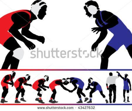 wrestling logo clip art wrestler applying arm lock pictures a rh pinterest com wrestling logo maker free wrestling logos designs