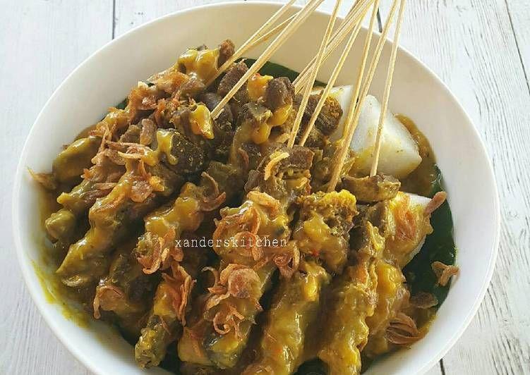 Resep Sate Lidah Padang Oleh Xander S Kitchen Resep Resep Masakan Indonesia Resep Masakan Resep
