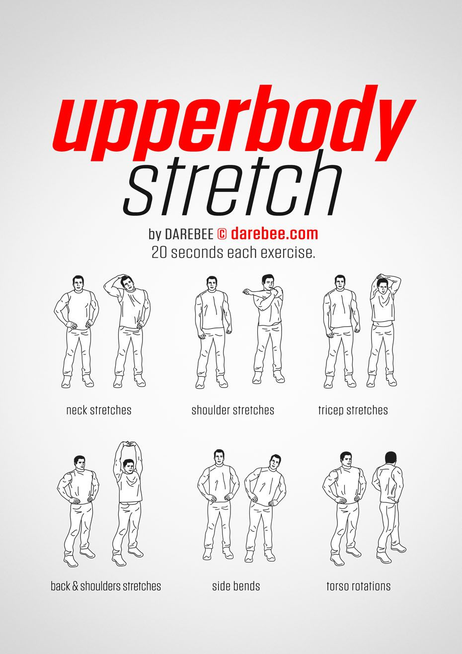 Upperbody Stretch workout  | Exercise | Stretches before