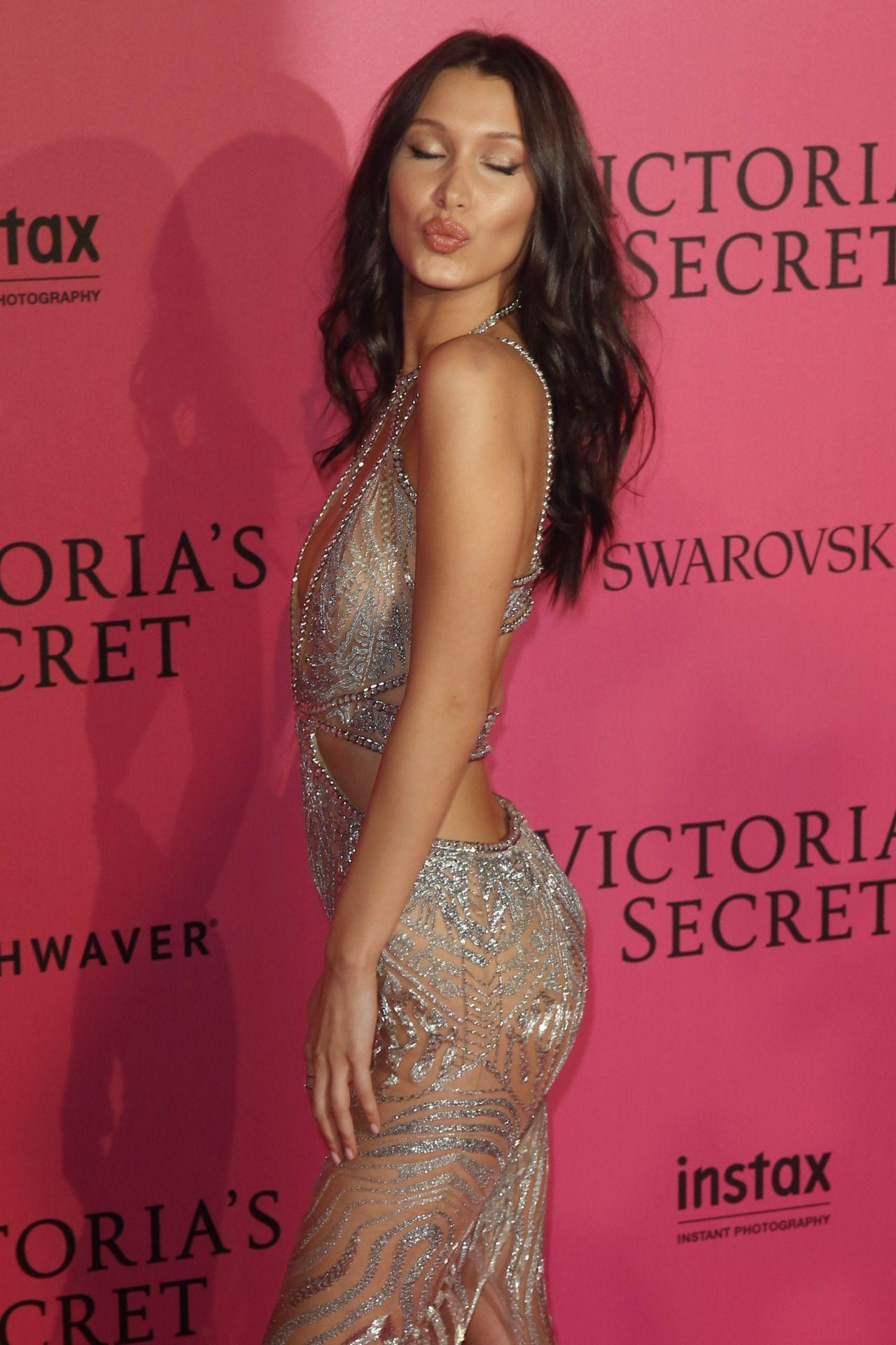"bel-hadid: """"Bella Hadid arriving at the 2016 Victoria's Secret Fashion Show "" """