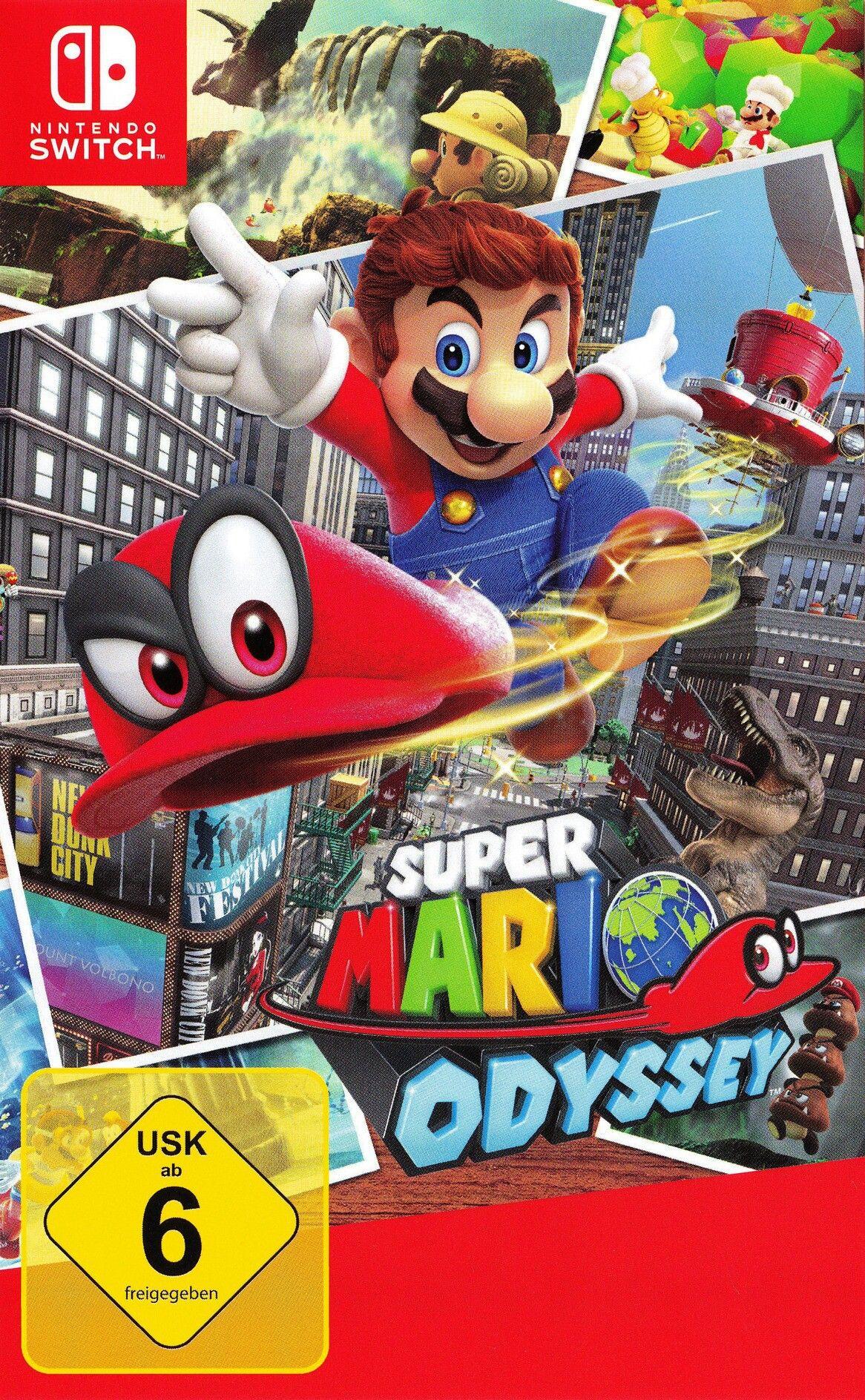 Super Mario Odyssey Nintendo Switch Super Mario Super Mario Sunshine Nintendo Switch Games