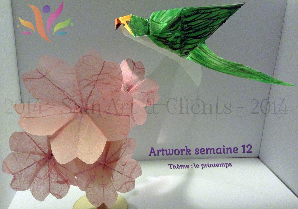 Bonjour à tous et à toutes, alors le thème de cette semaine c'est le #printemps, voici le lien pour aller sur la présentation du matériel et à compter de 10h vous pourrez accéder à la page de la présentation. Bonne découverte de mon #artwork de la semaine et à dimanche prochain. Faites suivre et partagez ma page facebook et l'adresse de mon site.  http://sam-art-clients.fr/artwork/