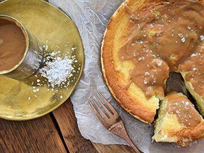 Fantastische cheesecake met karamel van dulce de leche en zeezout | Goodfoodlove
