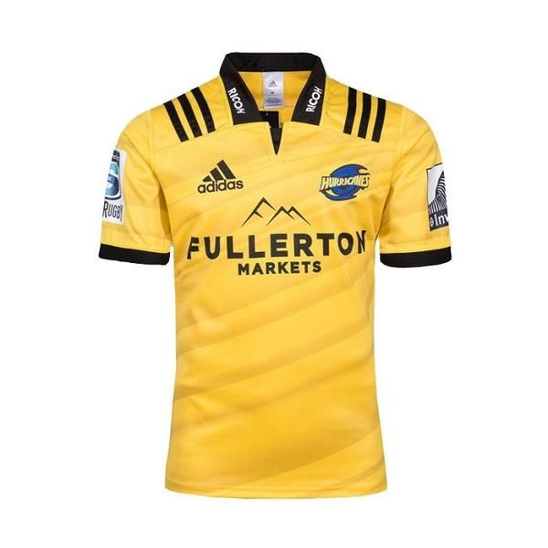 Hurricanes Rugby union team Home Adidas 2018-19 SPORT SHIRT JERSEY ...