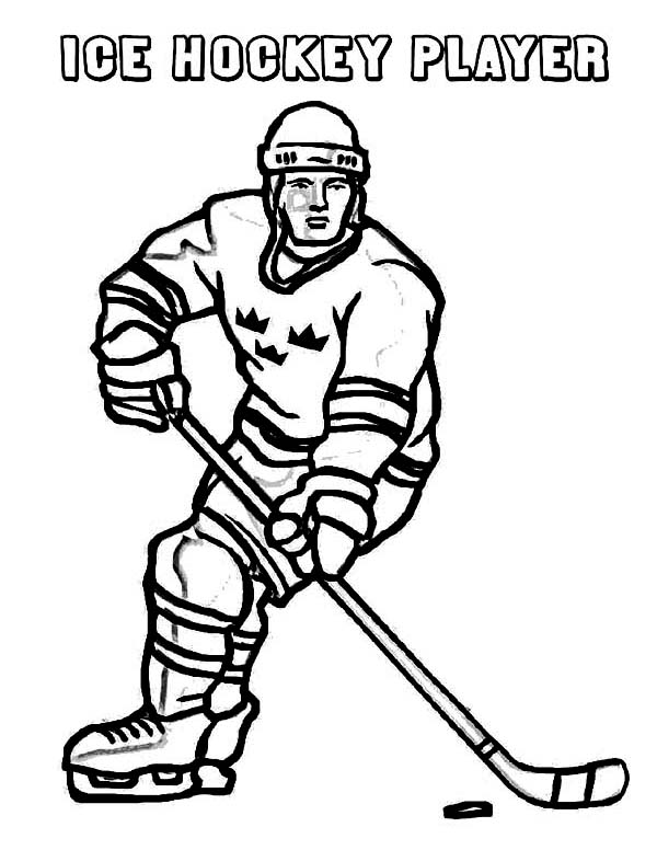 Top 10 Free Printable Hockey Coloring Pages Online | 776x600