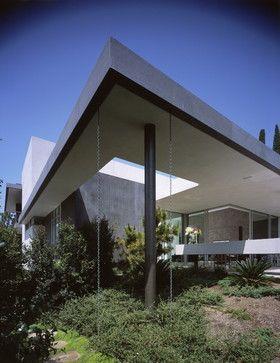 Modern Home Hidden Gutter Design Ideas Pictures Remodel