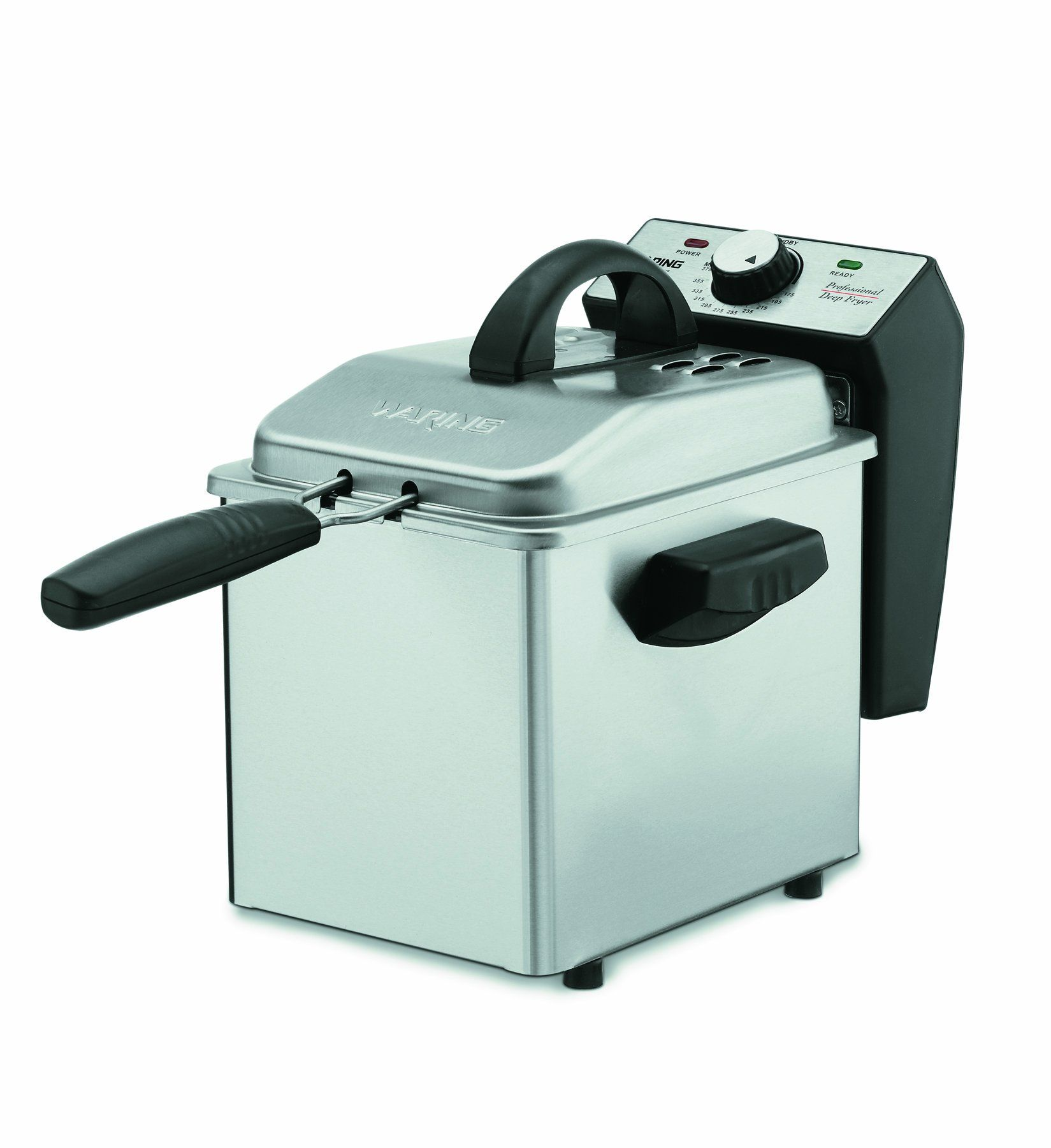 Waring Df55 Professional Mini 1 2 7 Pound Capacity Stainless Steel