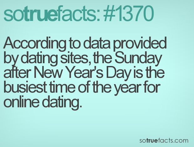 weird facts about dating sites