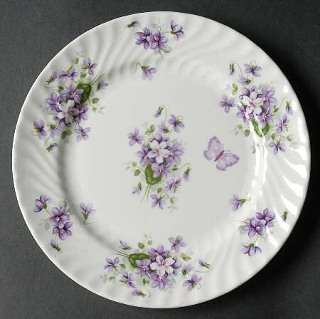 Aynsley John Wild Violets At Replacements Ltd Tea