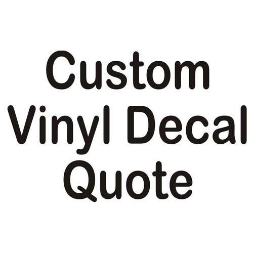 CUSTOM Vinyl Decals Wallcar Decals Vinyl Cut Outs Vinyls Vinyl - Custom vinyl decals for cars