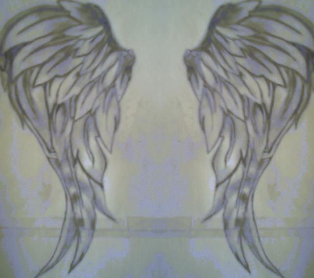 Angel Wings Shoulders Tattoos: Wing Tattoos On Back, Angel Wings