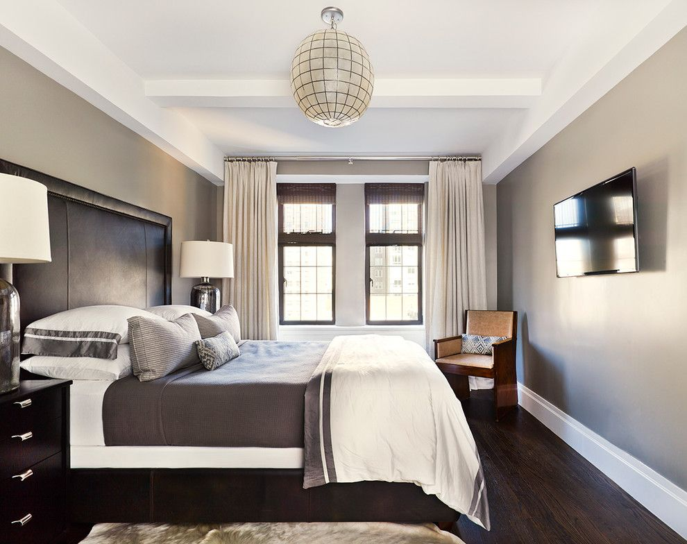 Inspiration Photo Floor Color Wall Color Gray Bedroom With Bedroom Beige Bedding Beige Bedroom Dark Wood Bedroom Dark Wood Bed Dark Brown Bedrooms
