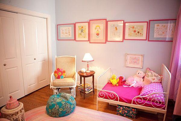 Kinderzimmer ideen für mädchen prinzessin  Kinderzimmer für Mädchen - Raumgestaltung Ideen für eine Prinzessin ...