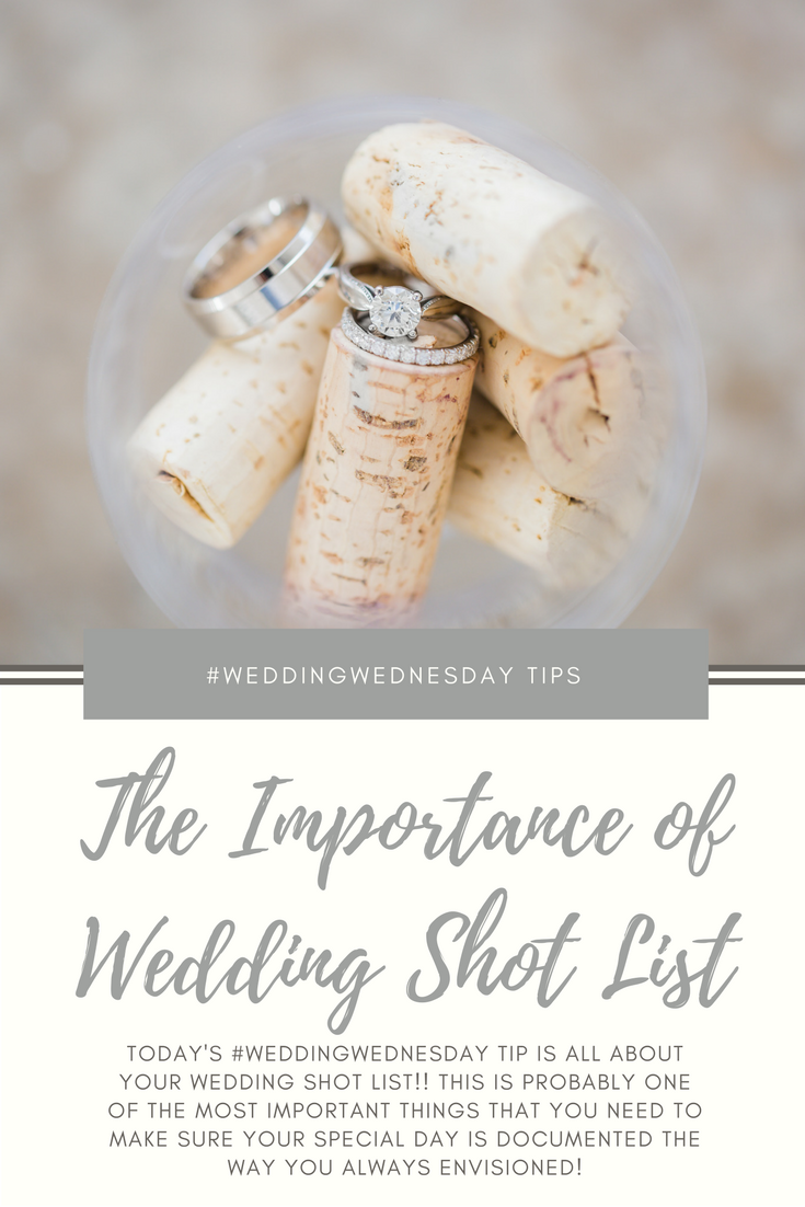 The Importance Of A Wedding Shot List  Shot List Weddings And