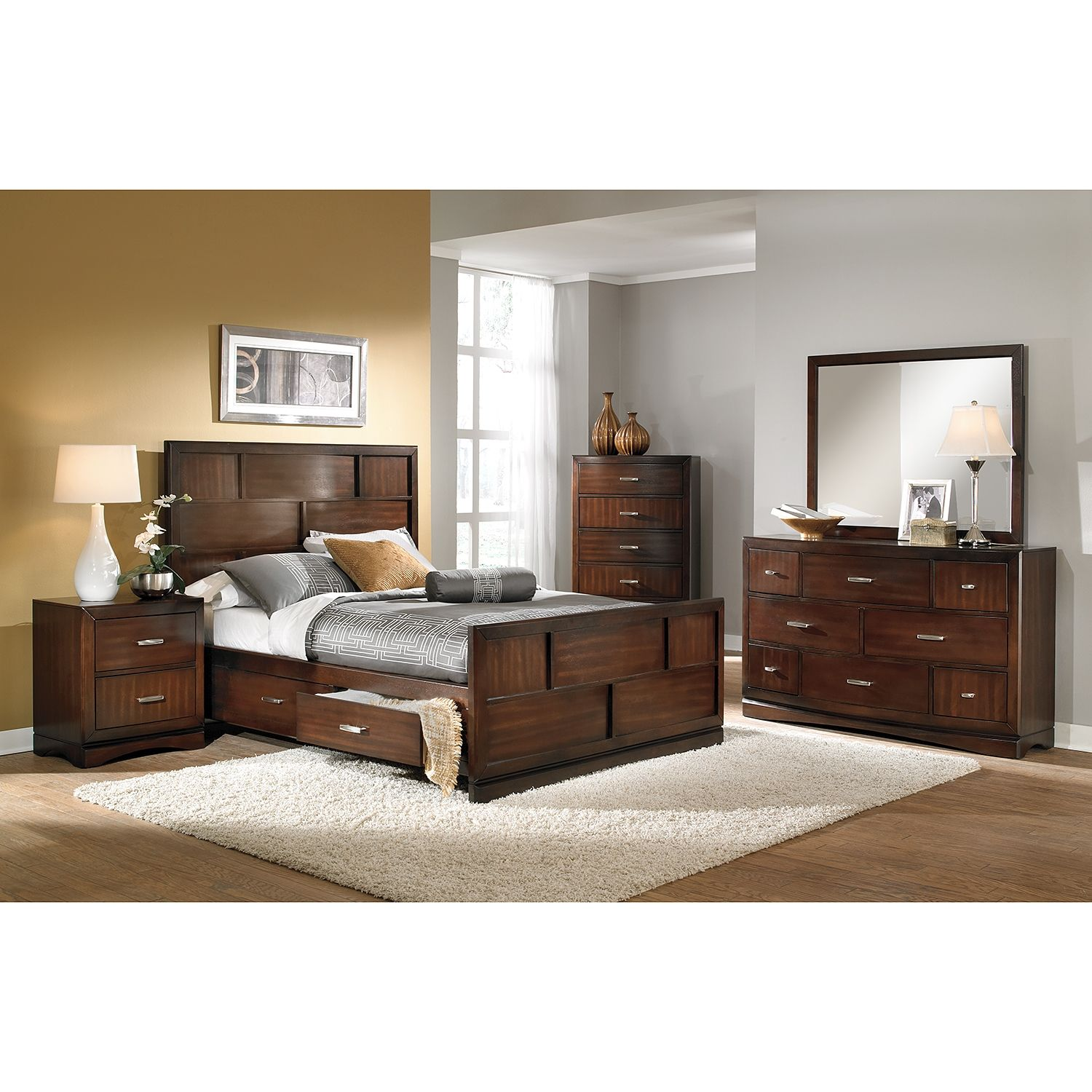 Toronto Dresser and Mirror (With images)  Bedroom furniture sets